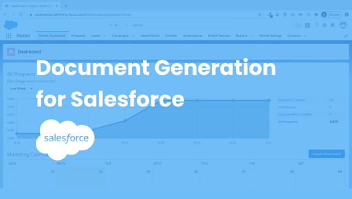 document generation app for salesforce